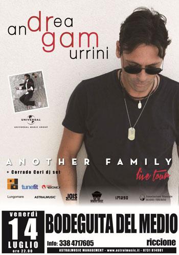 Al via Another Family Live Tour del cantautore e produttore marchigiano Dr.Gam