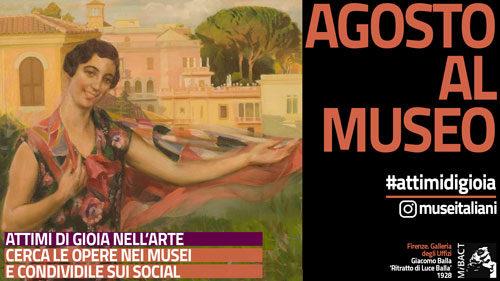 Caccia al tesoro digitale nei musei di tutta Italia per catturare 'istantanee di felicità' dal patrimonio culturale
