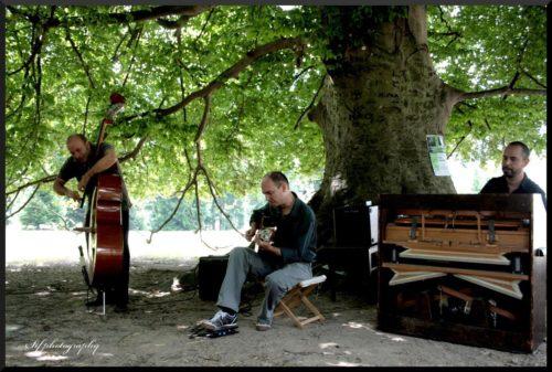 Il Trio Amaro al parco delle Terme di Levico
