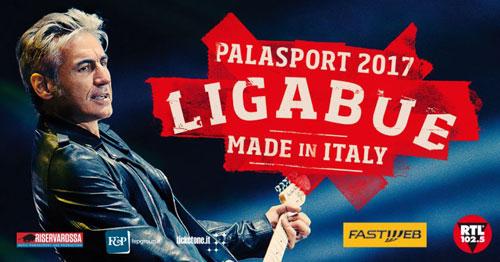 "Luciano Ligabue riparte dal ""105 Stadium"" di Rimini il tour ""Made in Italy - Palasport 2017""."