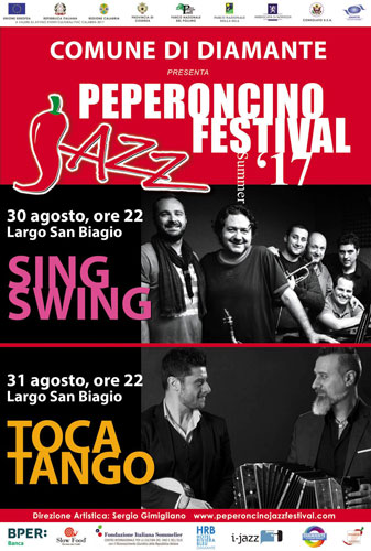 I Tocatango in concerto a Diamante