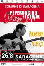 Il Jazz Manouche di Salvatore Russo a Saracena per il XVI Peperoncino Jazz Festival