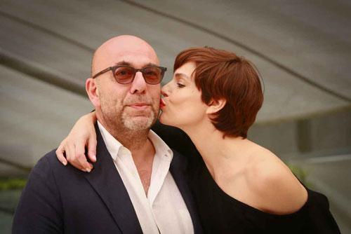 Paolo Virzì e Micaela Ramazzotti a L'Isola del Cinema