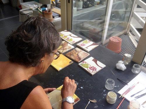 Al MIC di Faenza gli studenti dell'Università di Bologna studiano il restauro ceramico