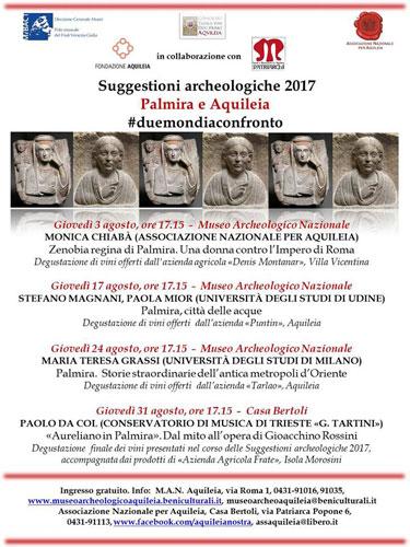 Volti di Palmira ad Aquileia