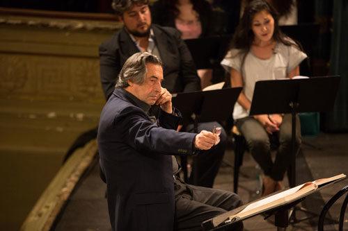 Riccardo Muti Italian Opera Academy 2017