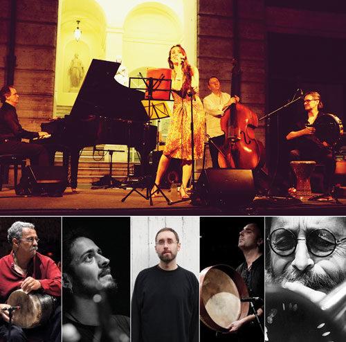 Anahita e Bosphorus in Blue Live Auditorium Parco della Musica di Roma e al Teatro Studio Borgna