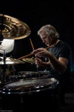 Dean Brown e Dave Weckl con Maurizio Rolli al Comacchio Jazz