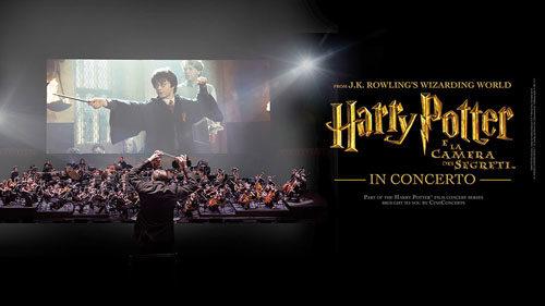 Harry Potter e la camera dei segreti™ in concerto per la prima volta in Italia