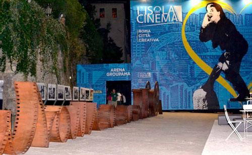 L'Arte a L'Isola del cinema a Roma