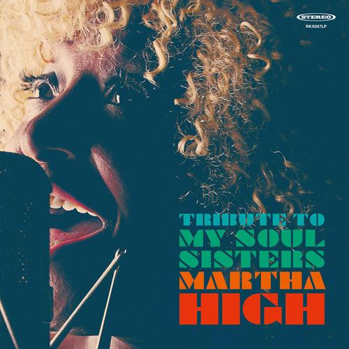 RK firma Martha High, storica Funky Diva di James Brown