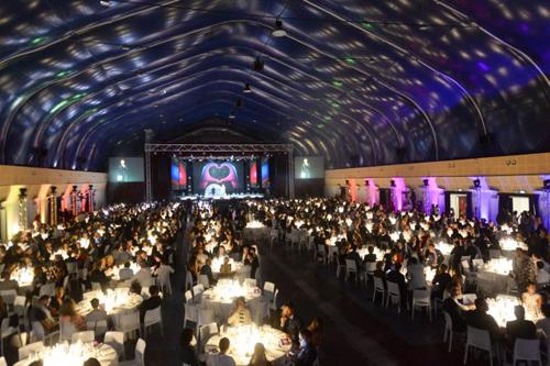 La Charity Dinner della Onlus Timetolove al Pala Brescia con moltissimi ospiti