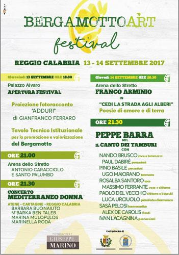 Peppe Barra e Franco Arminio a Reggio per il Bergamotto Art Fest