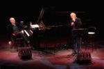 Gino Paoli e Danilo Rea in un concerto di solidarietà per Camerino