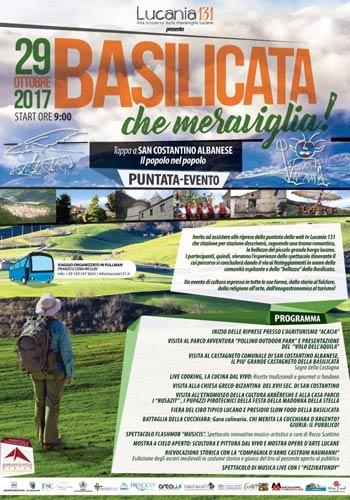 Arriva Basilicata, che meraviglia! per promuovere l'enogastronomia della regione
