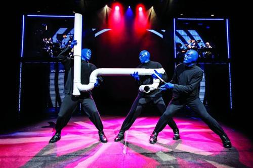 Blue Man Group al Teatro Degli Arcimboldi di Milano