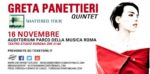 Greta Panettieri live @Auditorium Parco della Musica