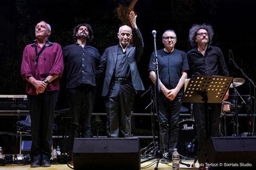 Gli Avion Travel per Fausto Mesolella al Premio Bianca d'Aponte
