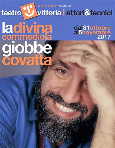 La Divina Commediola con Giobbe Covatta al Teatro Vittoria di Roma