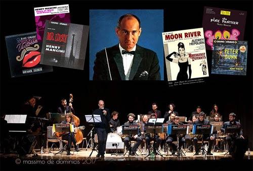 Le colonne sonore di Henry Mancini con la New Talents Jazz Orchestra al Teatro Palladium di Roma