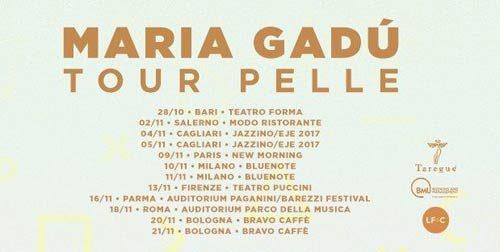 Maria Gadù Live nei club delle principali città italiane con il nuovo tour Pelle