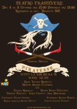 Piratesse, la commedia di Valeria Nardella in scena la Teatro Trastevere di Roma