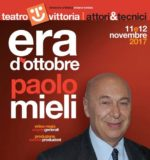Paolo Mieli in Era d'ottobre. Evento speciale per il Teatro Vittoria di Roma