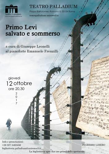 Primo Levi salvato e sommerso al Teatro Palladium di Roma