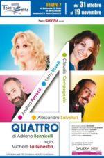 Quattro, lo spettacolo in scena al Nuovo Sistina di Roma