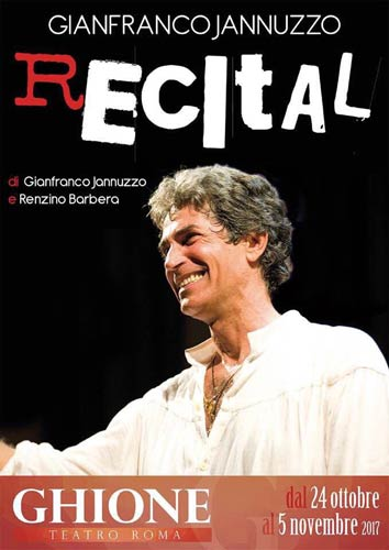 Recital, lo spettacolo in scena al Teatro Ghione di Roma