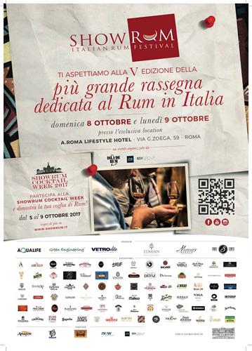 ShowRUM, Italian Rum Festival, al via la V edizione