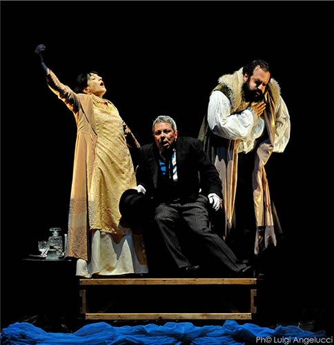 Svenimenti un Vaudeville - Compagnia Le Belle Bandiere al Teatro Palladium di Roma
