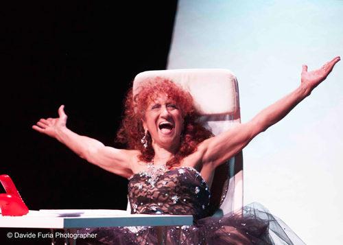 Anna Mazzamauro DIVINA al Teatro Martinitt
