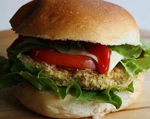 Hamburger di carni bianche e zucchine