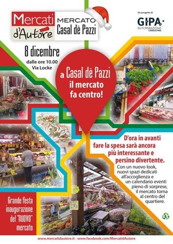 A Casal De' Pazzi il mercato fa centro