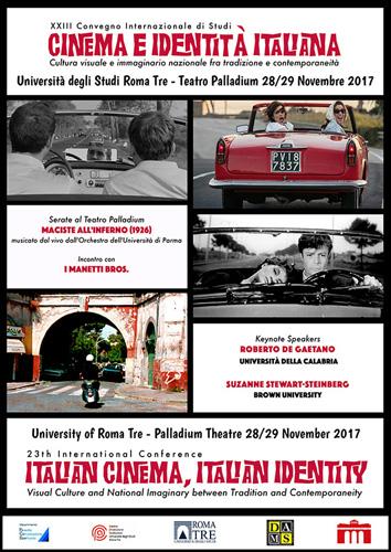 Cinema e Identità Italiana, convegno ed eventi tra Università Roma 3 e Teatro Palladium