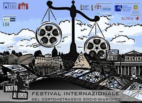 Diritto al corto, III edizione – festival int. del cortometraggio socio-giuridico al Teatro Palladium di Roma