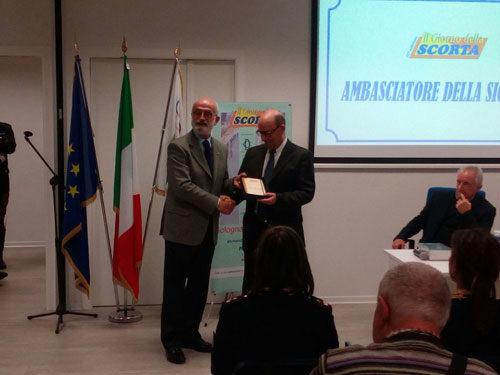 Il Prefetto Sgalla nominato Ambasciatore della Sicurezza nel Ciclismo