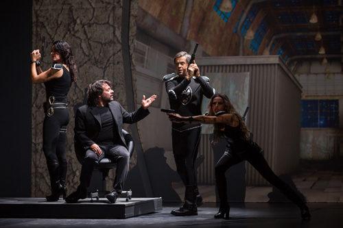 Lillo&Greg in L'uomo che non capiva troppo al Teatro Olimpico di Roma