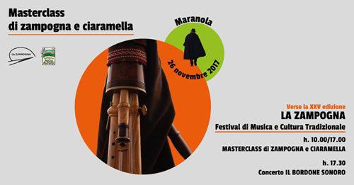 Masterclass di Zampogna e Ciaramella