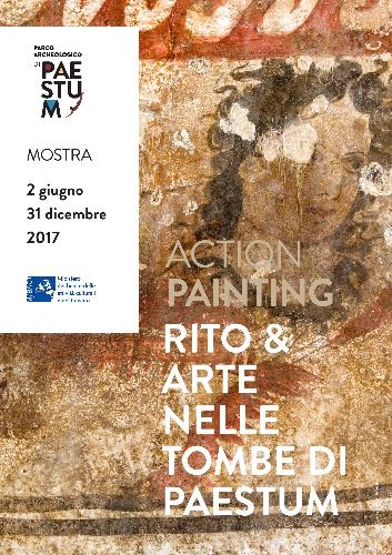 Mostra Action painting rito & arte nelle tombe
