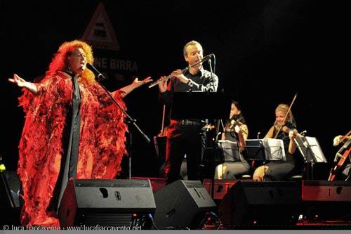 Opus Avantra Ensemble e i Quanah Parker al Festival Rock Progressive