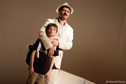 Per questo mi chiamo Giovanni. Da un padre a un figlio la storia di Giovanni Falcone al Teatro Vittoria di Roma