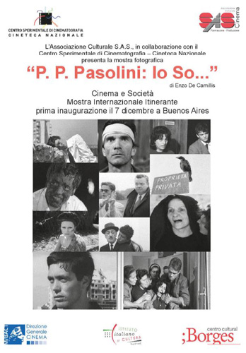 Pier Paolo Pasolini approda in Argentina a Buenos Aires