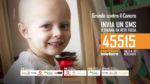 Soleterre, un giorno in più per donare. Fino al 1° dicembre è attiva la campagna SMS Grande contro il cancro