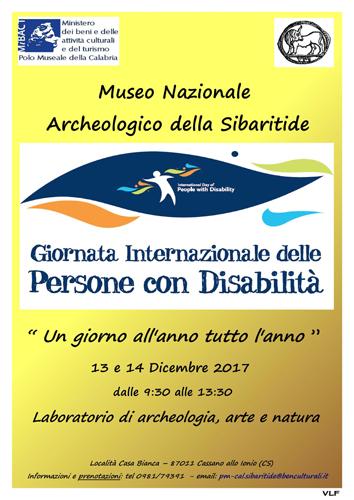 Giornata internazionale dei diritti delle persone con disabilità