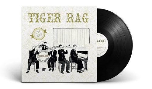 Tiger Rag Century Edition, il Maxi 45 giri in vinile dedicato ai 100 anni di Tiger Rag e ai 140 anni del fonografo
