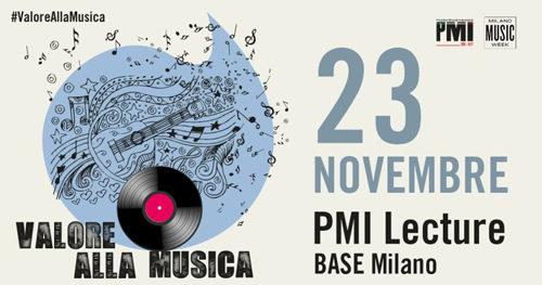 """PMI presenta l'open lecture """"Valore alla Musica"""" sul valore culturale ed economico della musica, ospite speciale Emis Killa"""