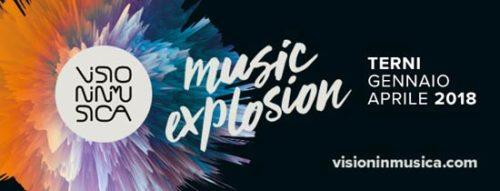 Visioninmusica 2018: dal 12 gennaio al 20 aprile 2018