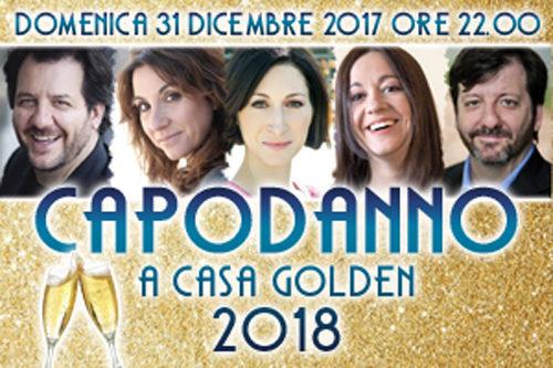 Capodanno 2018 al Teatro Golden di Roma